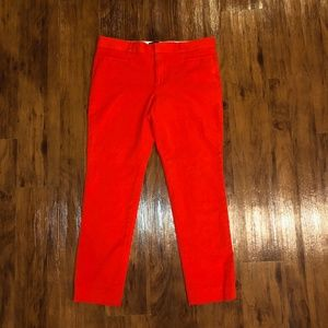 Red SLOAN Pants from Banana Republic - LIKE NEW